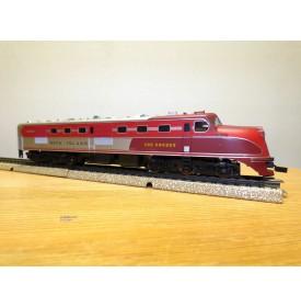 BRAWA digital 0896 ( pour Märklin ) , loco diesel  Co Co  ALCO  DL 109  Rock Island Neuf  BO