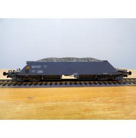 LILIPUT 223 50,  wagon trémie pour train de travaux ballast type Xas Bau I  SBB BO