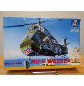 ITALERI 072, Hélicoptère WESTLAND HU-5 WESSEX  Royal Navy  Neuf  BO 1/72