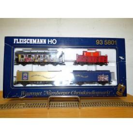 FLEISCHMANN  93 5801 , coffret Nürnberger Christkindlesmarkt  DB    BO