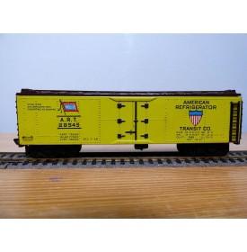 PENN LINE  420 (Fleischmann 1431) wagon couvert réfrigérant (reefer) WABASH American Refrigerator Transit Co. BO