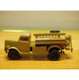 ROCO Minitanks 338, camion militaire OPEL Blitz TLF 15 Pompiers Neuf  BO 1/87 HO