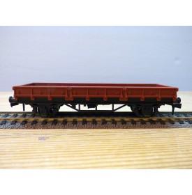 HORNBY acHO 718, wagon plat à ridelles basses SNCF  Neuf  BO