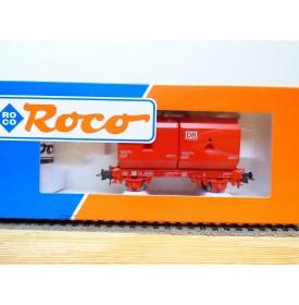 ROCO 47705, wagon plat type OKMM 58 chargé de conteneurs spéciaux  DB AG BO