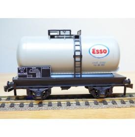 HORNBY acHO 7100, wagon citerne type SC  à   2  essieux   ESSO  SNCF   BO