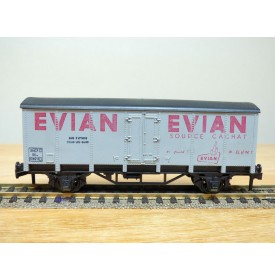 HORNBY acHO 7130, wagon couvert type SKw  EVIAN   SNCF  Neuf BO