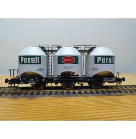 ROCO 47321,  wagon silo pour transport de lessive HENKEL PERSIL DB Neuf  BO