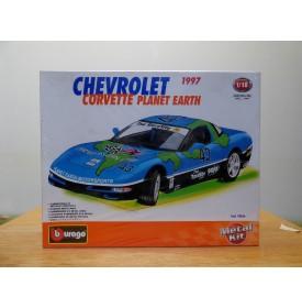 BURAGO 70166, Chevrolet Corvette Planet Earth  Neuf  BO