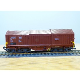 ROCO 46284,  wagon à toit coulissant type  Shis  DB   BO