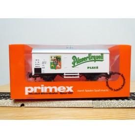 PRIMEX ( Märklin )  4553, wagon bière type Ibbhrs PILSNER URQUELL  CSD  BO