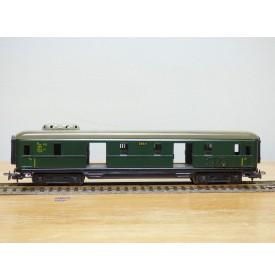 Märklin 346/4.5  (4012 ), fourgon  grandes lignes  ( D-Zug  Schürzenwagen )  DB  BO
