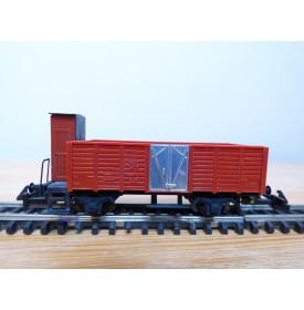 WESA 260, wagon tombereau à guérite  SBB