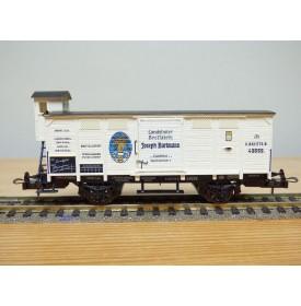 TRIX 23577 K,  wagon spécial pour transport de pain Joseph Bartmann à  LandshutK.B.Sts.B. neuf  BO