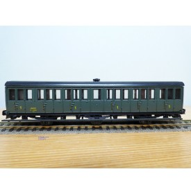 MMM-RG ???, voiture ancienne à 3 essieux de 1 ère classe  type A6  SNCF