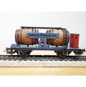 ELECTROTREN  801, wagon citerne bi foudres à guérite GONZALES BYASS  RENFE  neuf  BO