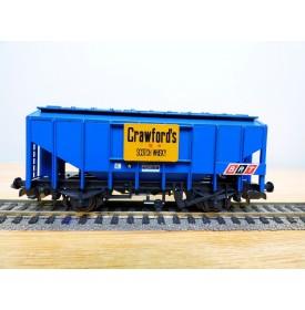 LILIPUT 807 00, wagon trémie pour céréales CRAWFORDS   BRT   BO