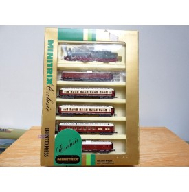 MINITRIX 51 1017 00, coffret Orient Express Balkan Express  Neuf  BO