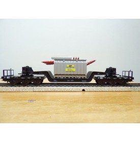 Märklin métal 4617.6, Wagon surbaissé EVS DB BO