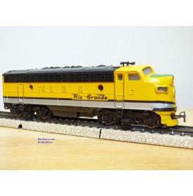 MÄRKLIN  4062, locomotive diesel  Bo Bo F7 A  non motorisée Rio Grande D&RGW    Neuf  BO