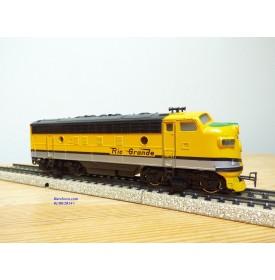 MÄRKLIN  3062, locomotive diesel  Bo Bo F7 A   Rio Grande D&RGW    Neuf  BO