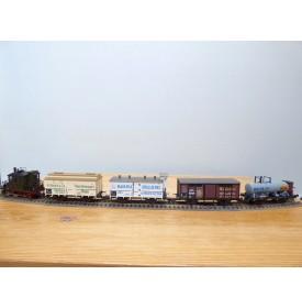 TRIX International  21218, coffret locotender T 2 ( Br 98 ) et 4 wagons KPEV   neuf  BO