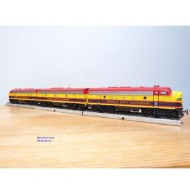 MÄRKLIN  Digital 37628,  locos diesel EMD F7 A B A  Kansas City Southern  neuf  BO