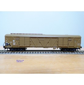 ROCO 4369C, wagon couvert à bogies type GGths Bromberg DR Neuf BO