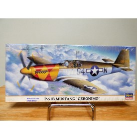 "TAMIYA  00279, chasseur américain North American P-51B  "" Geronimo ""  Neuf  BO 1/72"