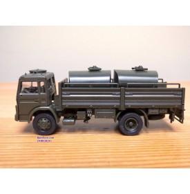 ROCO Minitanks 378, camion pompe militaire MAGIRUS  168 M  Neuf  BO  1/87  HO