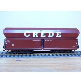 TRIX 23918, wagon trémie à déchargement automatique type Fals  CREDE   Neuf   BO