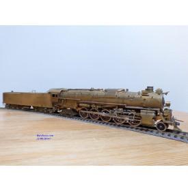 PFM ( Atlas Asahi ),    locomotive 152  ( 2 10 4 )  Texas  N° 5011   Santa Fé ( AT&SF )  BO