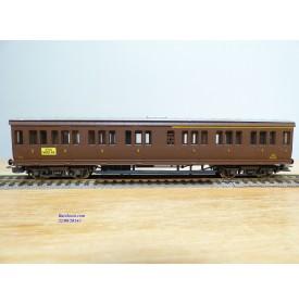 RIVAROSSI  2507, voiture à portières latérales mixte 1/2  Cl. type ABz  N° : 58408  FS