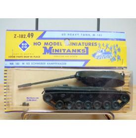 ROCO Minitanks Z-182.49, char lourd  américain M 103  Neuf  BO 1/87 HO