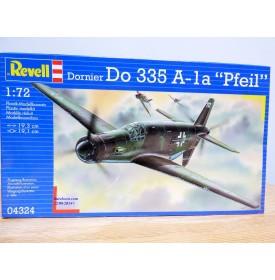 REVELL 04324, chasseur push - pull allemand DORNIER Do 335 A-1a Pfeil   Neuf  BO 1/722