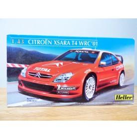 HELLER  80195, Citroën Xsara  T4  WRC  2001  Neuf  BO 1/ 43