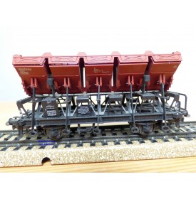 Märklin 4635, wagon à bennes basculantes type Ommi 51 DB BO