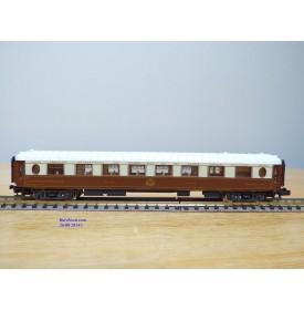 RIVAROSSI 9660, voiture salon Pullman  cuisine   type  WPc  1 Cl.  N°: 4008  DE CIWL SNCF BO