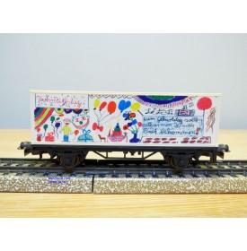 Märklin 4426, wagon anniversaire UNICEF 1995  DB Neuf  BO