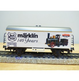 Märklin 99715 / 4415, wagon couvert Märklin 140 years série limitée USA Neuf BO