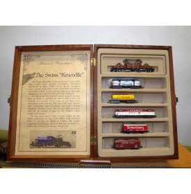 "MINITRIX (Model Power ) 1023, coffret "" Krockidile""   Be 6/8 et 5 wagons N°: 753 ( sur 1500) SBB    BO"