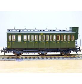 FLEISCHMANN 5694, voiture à 3 essieux à guérite C5 tf 3 Cl.  SNCF  BO