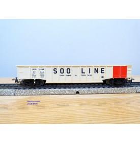 Märklin   4774, wagon tombereau ( gondola ) SOO LINE   BO