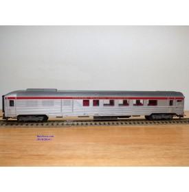 HORNBY acHO 7457, voiture Inox mixte fourgon générateur TEE  SNCF BO