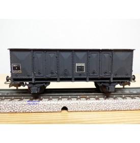 SMCF ???, wagon tombereau noir  à 2 essieux  type T  SNCF   BO