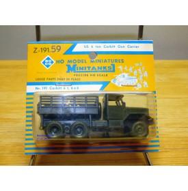 ROCO Minitanks Z-191.59  ou 98 ,  camion 6*6  Corbitt 6 tons  Neuf   BO  1/87  HO