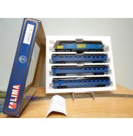 Lima Golden Series 149762 G,  coffret 1 loco et 3 voitures CN  Viarail  Neuf   BO