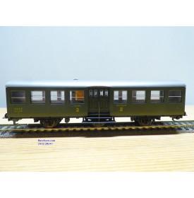 FLEISCHMANN 1442, voiture à 3 essieux B5tm 2 Cl.SNCF BO