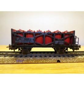 Märklin   4657,  wagon porte citernes pour acide  DB BO