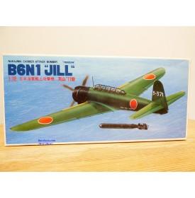 FUJIMI 7AD 3,  rare avion torpilleur embarqué NAKAJIMA B6N1  Tenzan Jill  Neuf   BO 1/72