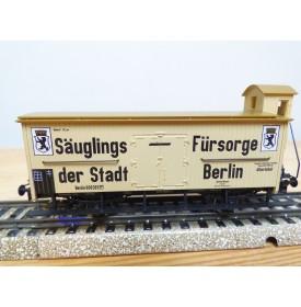 Märklin 4781,  wagon couvert à guérite Säuglings Fürsorge der Stadt Berlin   Neuf  BO